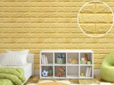 Odorless Decoration XPE Foam Brick Wall Panel/Sticker