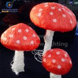 LED Acrylic Outdoor Decoration Mushroom Christmas Lights for Outdoor Garden Decoration with IP44