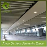 50W*100h Aluminum Decoration Profile Baffle Ceiling for Metro Station