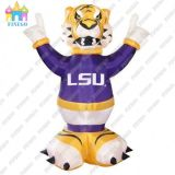 Popular Inflatable Tiger Cartton Model