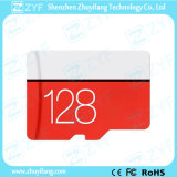 Red and White 128GB Class 10 Micro SD Memory Card (ZYF6025)