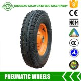 Hot Sale 16in Heavy Duty Rubber Wheel for Wheelbarrows Trailers
