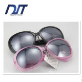 Factory Direct Transparant Pink Color Frame Lady Sunglasses for Promotion