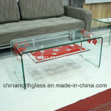 Bent Tempered Glass for Table
