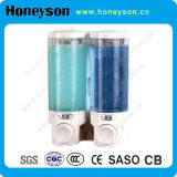 ABS Double Transparent Bathroom Soap Dispenser