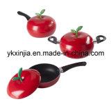 Kitchenware Aluminum Non-Stick Fruit Pan Cookware Set