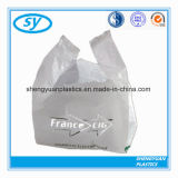 Plasitc Recyclable T-Shirt Bag for Retail Chain with Logo
