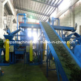Environment Friendly Waste Tire Shredder Production Line