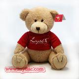 Plush Red T-Shirt Bear Toy