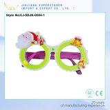 Attractive PVC Christmas Eyeglass Frame for Presentation