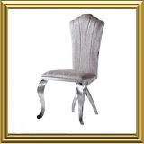 Elegant Velvet Fabric Stainless Steel Modern Dining Room Chair