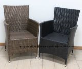 Classic Metal Rattan Outdoor Leisure Restaurant Dining Garden Lounge Chair