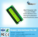 Character LCD Module Stn Yellow-Green 1602 with Controller St7066u