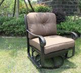 Leisure Swivel Glide Club Chair Cast Aluminum Furniture for Garden