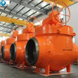 China Top Entry Trunnion Mounted Ball Valve Factory with Low Price