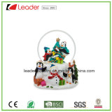 Hand-Painted Resin Gift 60mm Snow Globe for Home Decoration&Souvenir Gift and Promotional Gifts