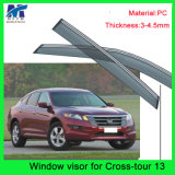 Auto Accesssories Window Roof Visors Sun Guard for Hodna Crosstour 13