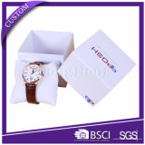 Factory Customized Logo Luxury Paper Watch Box with Pillow