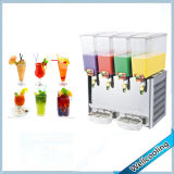 China Factory Sell 4 Tanks Refrigerated Juice Dispenser Fruit Juicer Machine