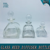 50ml 125ml 270ml Tent Shape Glass Ball Cork Glass Reed Diffuser Bottle