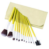 12PCS Professional Makeup Brush Cosmetic Brush with Synthetic Hair