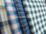 Yarn Dyed Cotton Flannel Fabric with Stretch-Lz6526