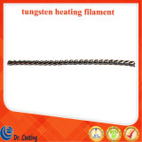 Straight Type Tungsten Heating Filament 99.95% Pure Tungsten Wires