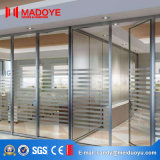 2017 Latest Design Frosted Glass Office Partition Door