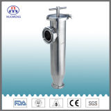 Sanitary Stainless Steel Clamped Angle Type Strainer (ISO-No. NM100205)