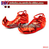 Jester Shoe Covers Clown Circus Joker Pixie Holiday Decoration (BO-6020)