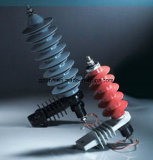 5ka Zinc Oxide Distribution Surge Arrester Grapless Polymeric Moa