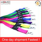 Ribbon Customized Advertising Polyester Lanyard for Promotion
