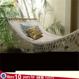 Good Quality Cotton Sofe Nature Color Deco Garden Rest Furniture Hammock /Bed