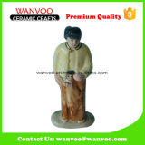 Ceramic Character Handicraft Statue for Room Decor