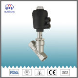 Sanitary Stainless Steel Pneumatic Welded Angle Seat Valve (ISO-No. RJZ0103)