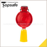 6LED Solar Road Construction Warning Light (S-1359B)