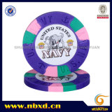 9.5g Pure Clay Us Navy Poker Chip (SY-C02)