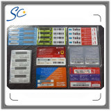 China Telecom Prepaid Scratch off Multi Voucher Card Manufacturers