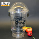 24oz 700ml Big Plastic Cups for Salad Fruit with Pet Lid