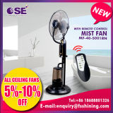 Spraying Cooling Appliance Water Mist Fan with Remote Control