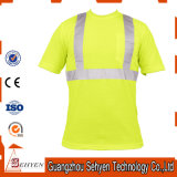 High Quality Cheap Custom Wholesale OEM O-Neck Reflective T-Shirt