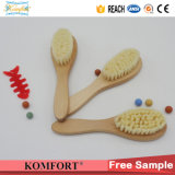 Wood Comb Custom Goat Soft Nylon Mini Baby Hair Brush