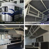 Competitive Price Chinese Standard Angel Load Three Horse Trailer Sale