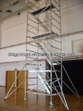 Aluminum 45 Degree Step Stair Types of Scaffolding