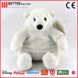 Plush Polar Bear Toy in Cloth