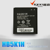 High Capacity Mobile Phone Battery for Huawei 1400mAh 3.7V Battery Hb5k1h M865 / C8650 Black