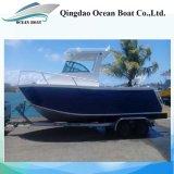 6.25m Factory Supply Aluminum Sport Fishing Cuddy Cabin Boat