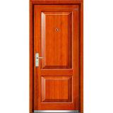 Steel Wooden Security Door (LT-201)