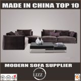Italy Home Furniture Fabric Sofa with 3 Seater