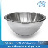 Stainless Steel Double Wall Large Salad Serving Bowl for Hotel / Restaurant Use by Stamping, Pressing, Laser Welding